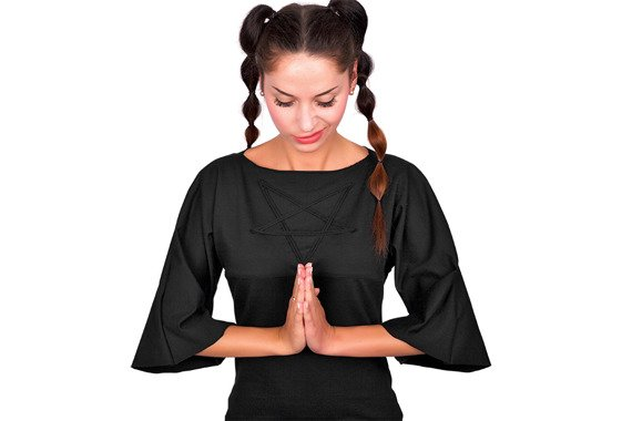 sukienka AMENOMEN - PENTAGRAM