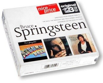 3 x płyta CD: BRUCE SPRINGSTEEN: ORIGINAL 123 CD BOX SET