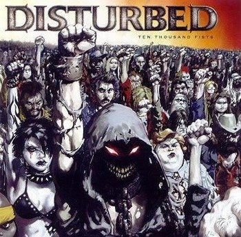 DISTURBED: TEN THOUSAND FISTS (CD)