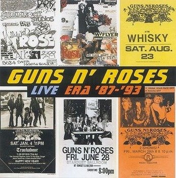 GUNS N' ROSES: LIVE ERA 87-93 (CD)