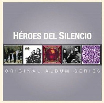 HEROES DEL SILENCIO: ORIGINAL ALBUM SERIES (5CD)