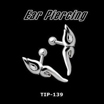 KOLCZYK PIERCING DO UCHA TRIBAL 2 SREBRO [TIP-139]