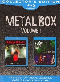 MARILYN MANSON / KORN: METALBOX VOLUME I (2xBLU-RAY)