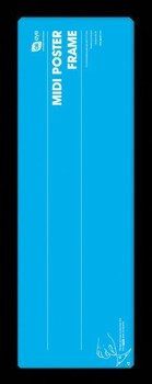 Rama do plakatu MIDI 30,5x91,5 czarna