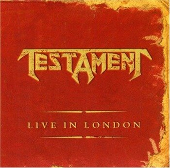 TESTAMENT: LIVE IN LONDON (CD)