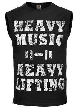 bezrękawnik HEAVY MUSIC HEAVY LIFTING