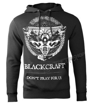 bluza BLACK CRAFT - PROTECTION MOTH, kangurka z kapturem