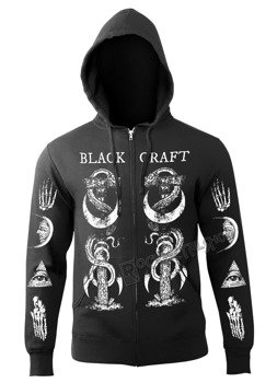 bluza BLACK CRAFT - THE CRAFT rozpinana, z kapturem