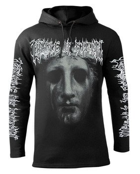 bluza CRADLE OF FILTH - FACE czarna z kapturem
