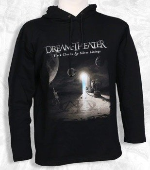 bluza DREAM THEATER - BLACK CLOUDS & SILVER LININGS ,z kapturem