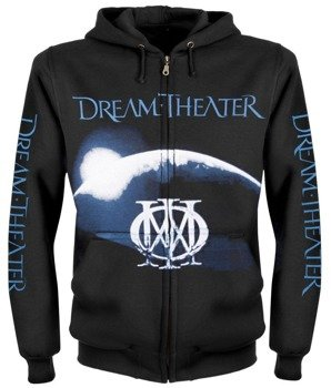 bluza DREAM THEATER - DREAM THEATER czarna, rozpinana z kapturem