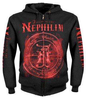 bluza FIELDS OF THE NEPHILIM rozpinana, z kapturem