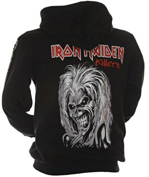 bluza IRON MAIDEN - KILLERS rozpinana, z kapturem