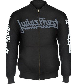 bluza JUDAS PRIEST - BRITISH STEEL bejsbolówka, rozpinana