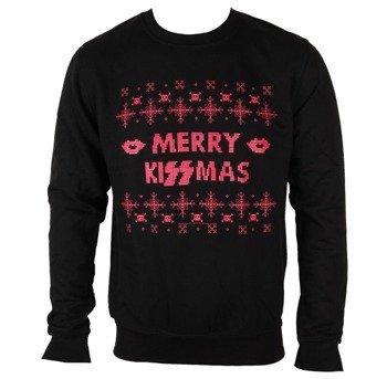 bluza KISS - MERRY KISSMAS, bez kaptura