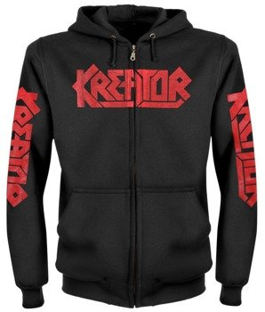 bluza KREATOR - CIVILISATION COLLAPSE rozpinana z kapturem