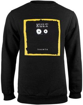 bluza KULT - KASETA czarna, bez kaptura