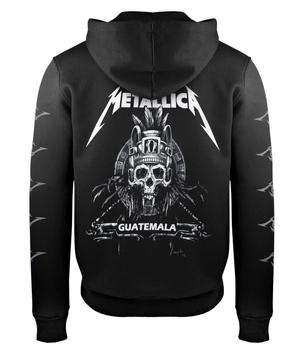 bluza METALLICA - GUATEMALA czarna, rozpinana z kapturem
