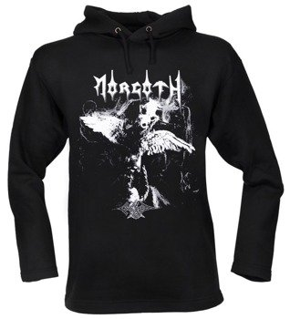 bluza MORGOTH - CURSED czarna, z kapturem