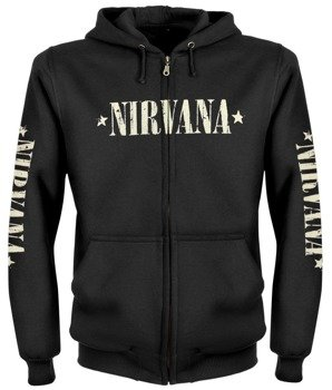 bluza NIRVANA - SEATTLE WASHINGTON rozpinana, z kapturem