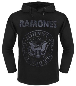 bluza RAMONES - TOMMY, JOHNNY, JOEY, DEEDEE z kapturem