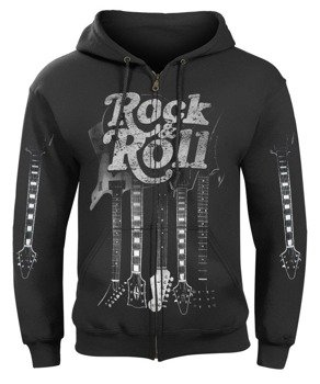 bluza ROCK & ROLL GUITARS rozpinana, z kapturem