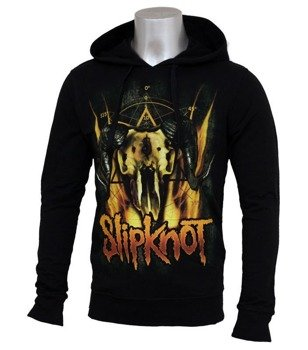 bluza SLIPKNOT - CATTLE SKULL, z kapturem