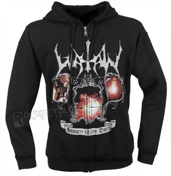bluza WATAIN - SWORN TO THE DARK,rozpinana z kapturem