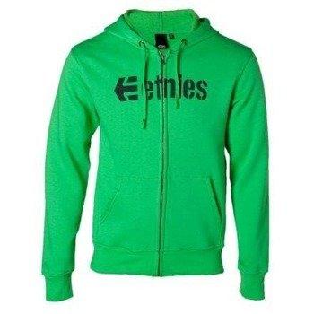 bluza na suwak ETNIES - CORPORATE (FULL ZIP) (GREEN) 09'