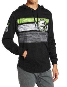 bluza z kapturem METAL MULISHA - FRAGMENT czarna
