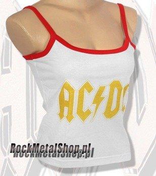 bluzka damska AC/DC na ramiączkach