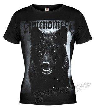 bluzka damska AMENOMEN - BLACK WOLF (OMEN024DA)