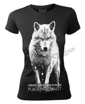bluzka damska BLACK CRAFT - LONE WOLF