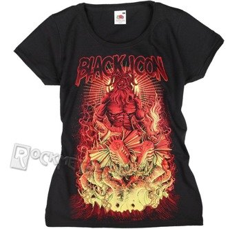 bluzka damska BLACK ICON - HADES (DICON081 BLACK)