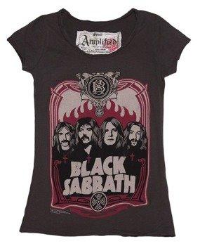 bluzka damska BLACK SABBATH - CREW szara
