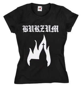 bluzka damska BURZUM - BURNING CHURCH