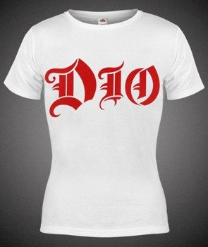 bluzka damska DIO - RED LOGO biała