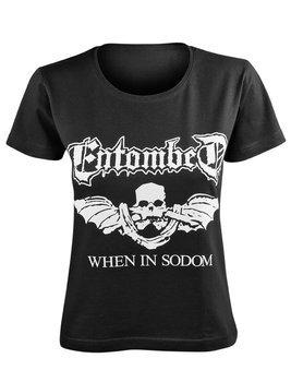 bluzka damska ENTOMBED - WHEN IN SODOM