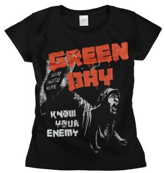 bluzka damska GREEN DAY - KNOW YOUR ENEMY
