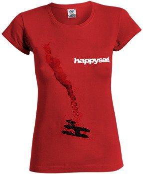 bluzka damska HAPPYSAD - WSZYSTKO JEDNO czerwona