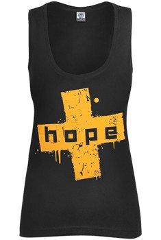 bluzka damska HOPE - DA BEST OF na ramiączkach