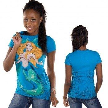bluzka damska  IRON FIST - BURIA  (ELECTIC BLUE)