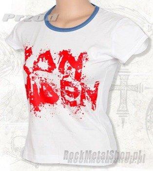 bluzka damska IRON MAIDEN biała