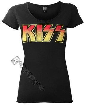 bluzka damska KISS - CLASSIC LOGO BLACK