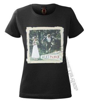 bluzka damska KULT - HURRA! czarna