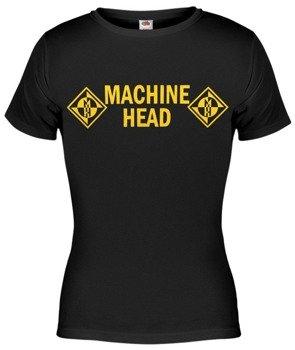 bluzka damska MACHINE HEAD - YELLOW LOGO