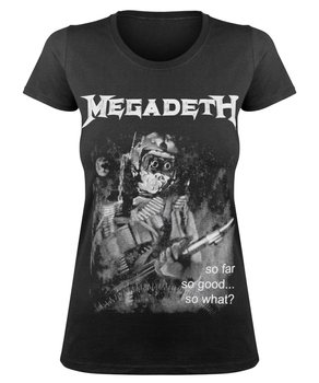 bluzka damska MEGADETH - SO FAR, SO GOOD... SO WHAT?