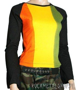 bluzka damska RASTA JAMAICA z długim rękawem