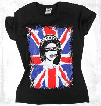 bluzka damska SEX PISTOLS - GOD SAVE THE QUEEN