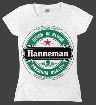 bluzka damska SLAYER - HANNEMAN biała
